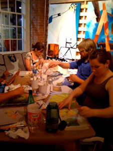 LabourLove-Art-Party-June-2010